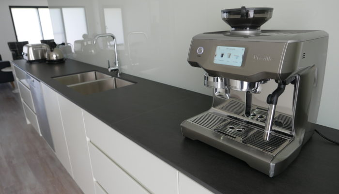 Kitchen with Oracle Touch coffee machine